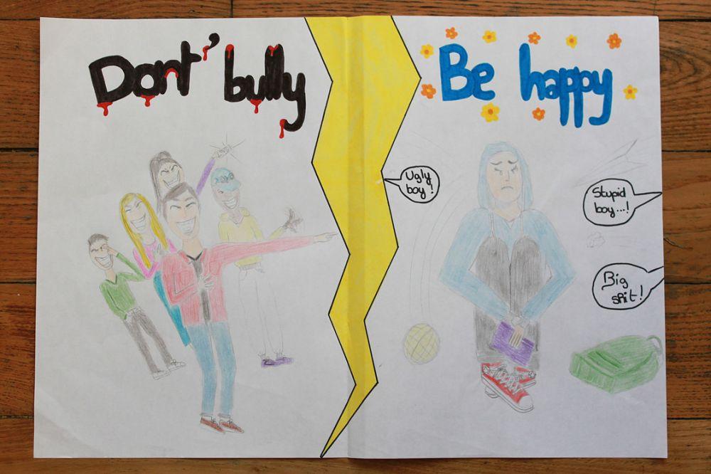 Dessin : Don't Bully Be Happy