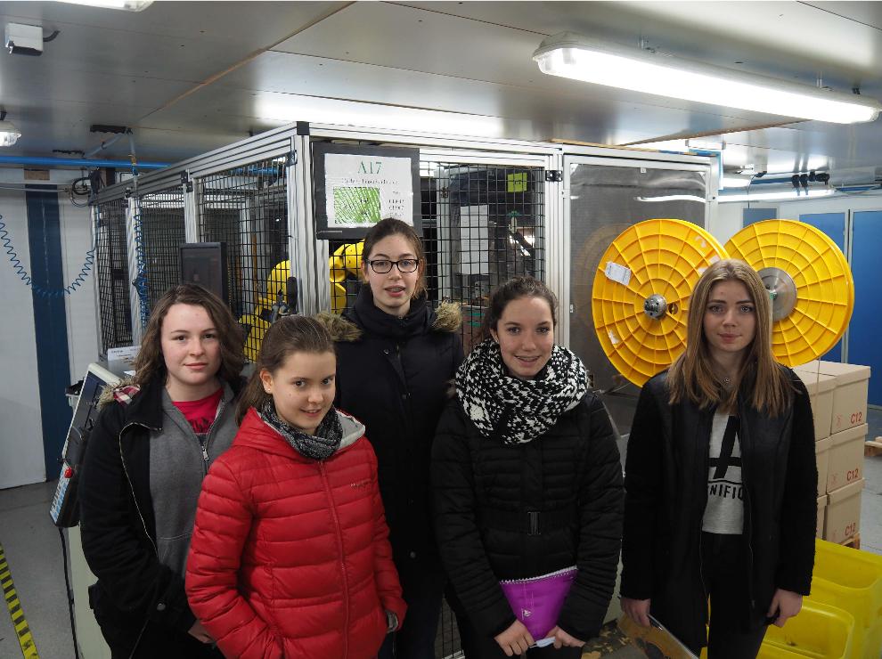 Les élèves En Visite à L'entreprise Axon