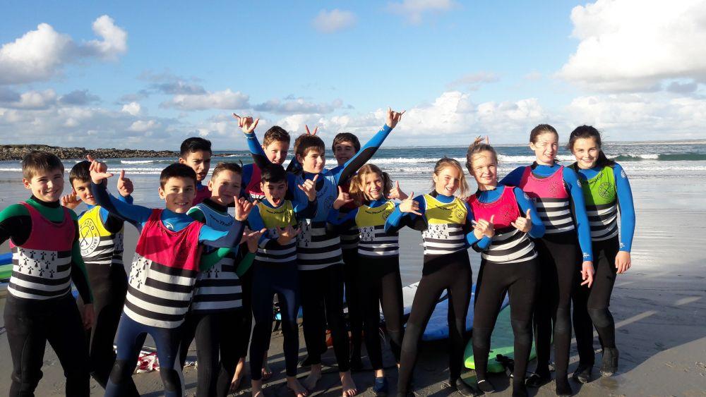 Surf - Collège St Jean Baptiste - Défie La Tempête