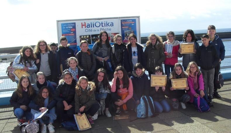Groupe Sc 6è – Haliotika