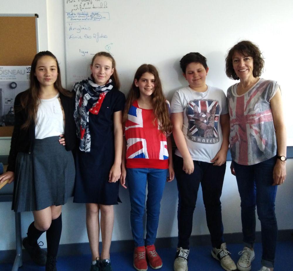 Semaine Des Langues à SJB SCHOOL! Jour 2 (l'Angleterre)