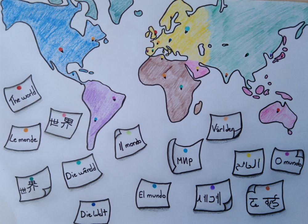 Semaine Des Langues à SJB SCHOOL – Jour 3 (concours D'affiches)