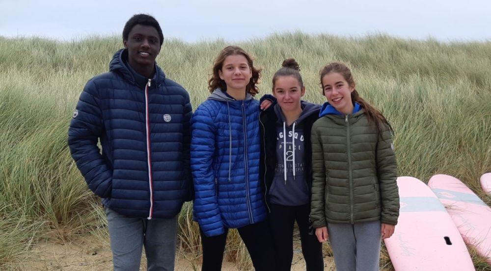 COMPÉTITION RÉGIONALE DE SURF UGSEL – Plouharnel