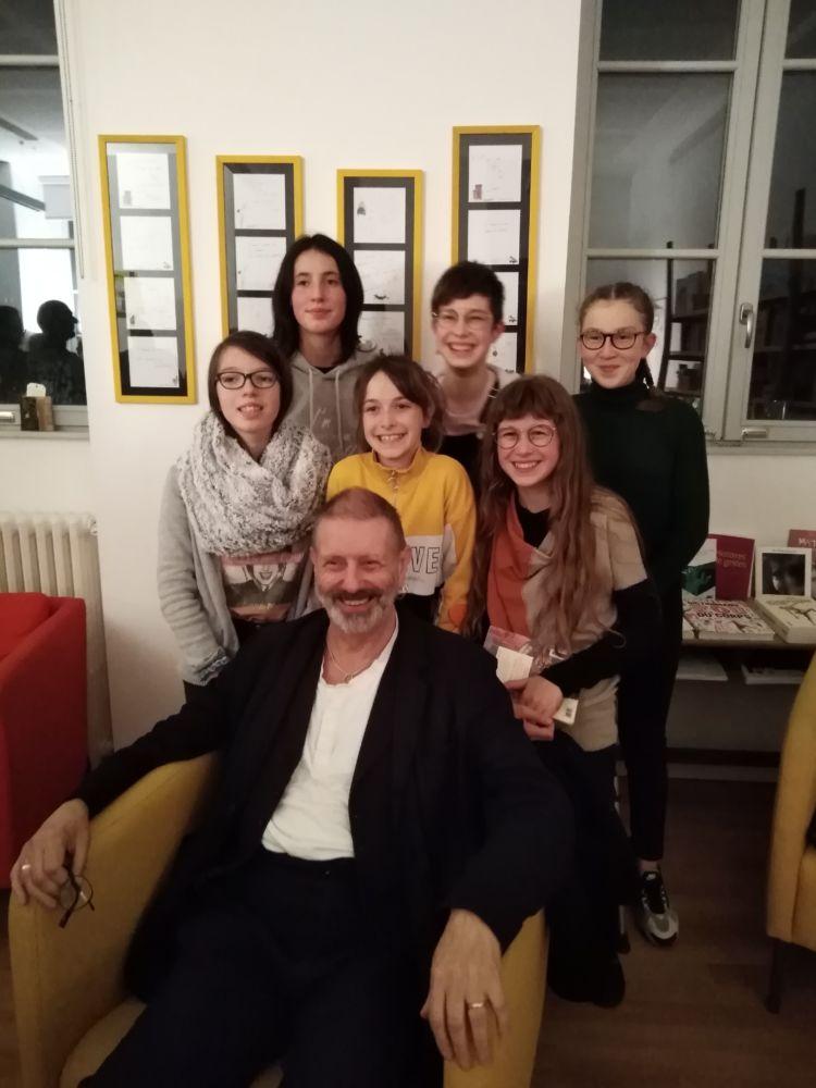 PARCOURS ARTISTIQUE ET CULTUREL : Rencontre Avec Mike Kenny Et Lecture Publique De Textes !