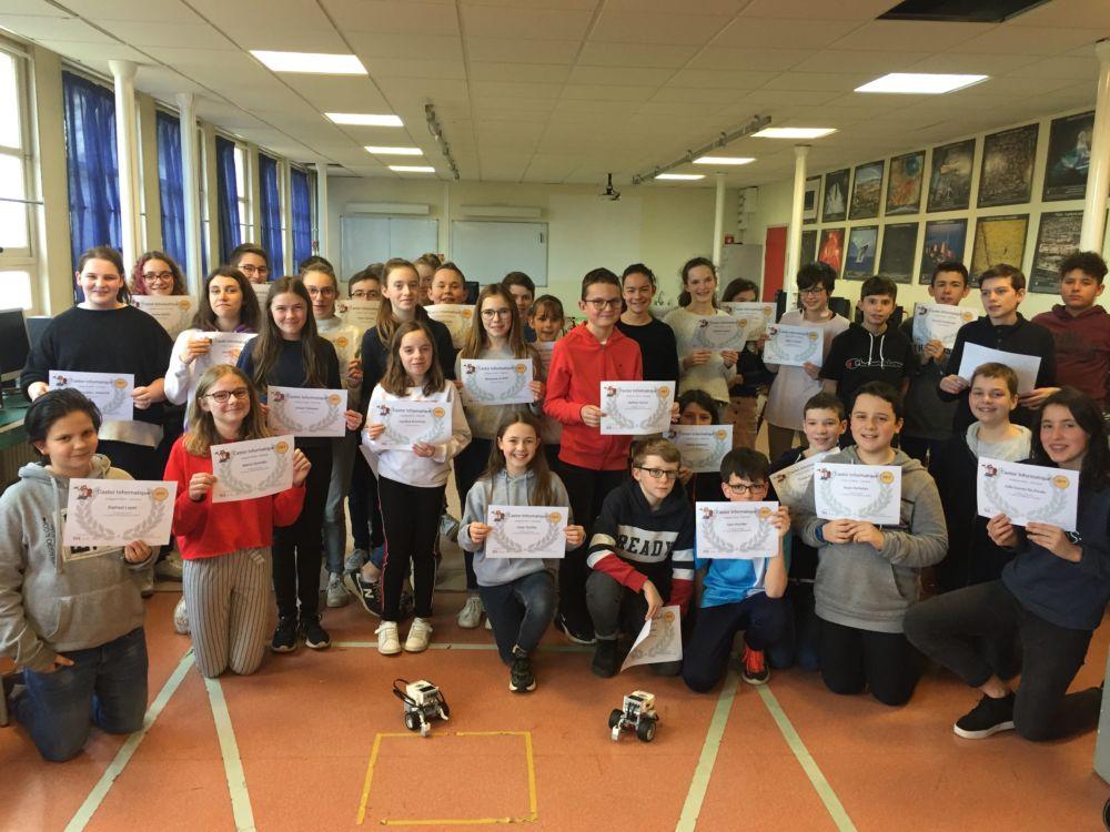 Concours Castor Informatique Et Algoréa 2020 ! Le Collège Se Fait Une Place …