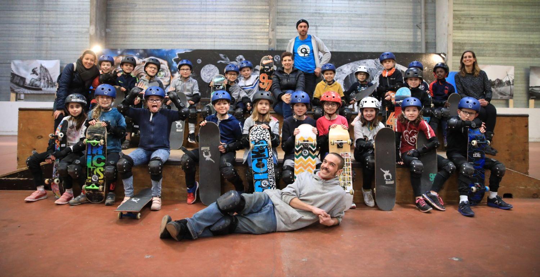 Les CM1 Au Skate Parc