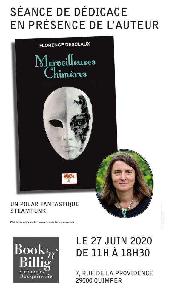 Séance De Dédicace De Florence DESCLAUX (enseignante Au Collège …. Et Auteure !)